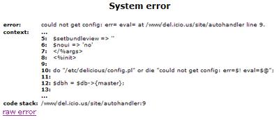 del.icio.us で System error (その2)