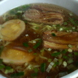 味玉叉焼麺