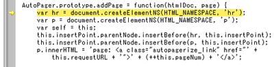 createElementNS() を呼び出そうとしてエラー発生